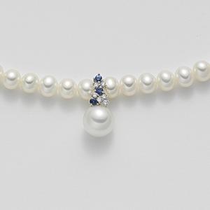 Collana oro e perle