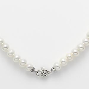 Collana perle susta fiore