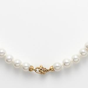 Collana perle susta oro giallo