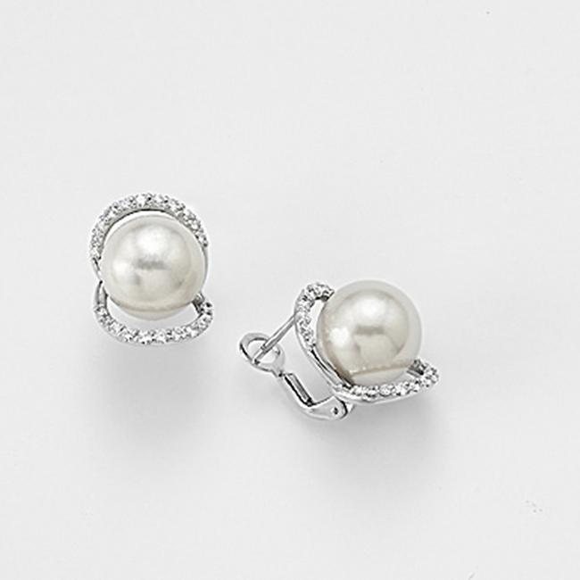 più recente 1fbf2 bfe43 Orecchini oro bianco e perle- Mikiko