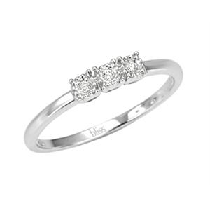 vendita calda reale design innovativo nuovo stile Anello Delice con diamanti - Bliss
