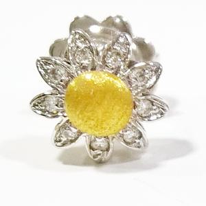Orecchini margherita con diamanti